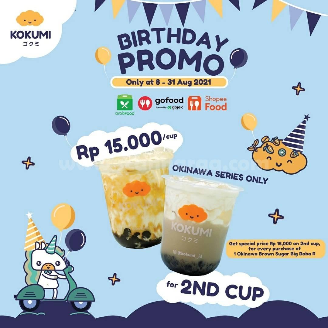 KOKUMI Promo Birthday - Beli Okinawa Series harga cuma Rp 15.000
