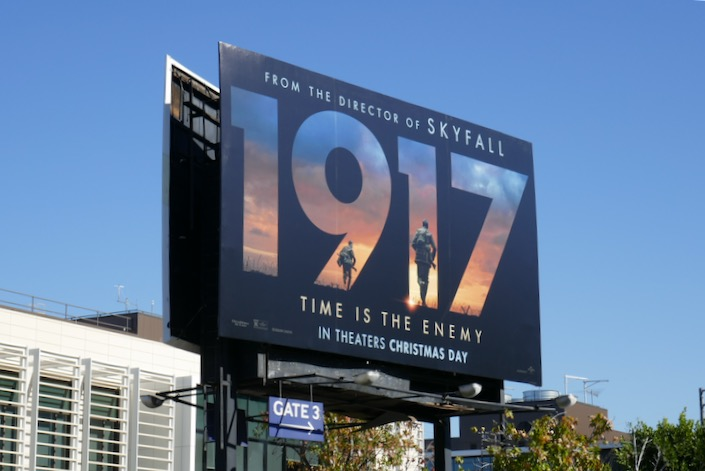 1917 movie billboard