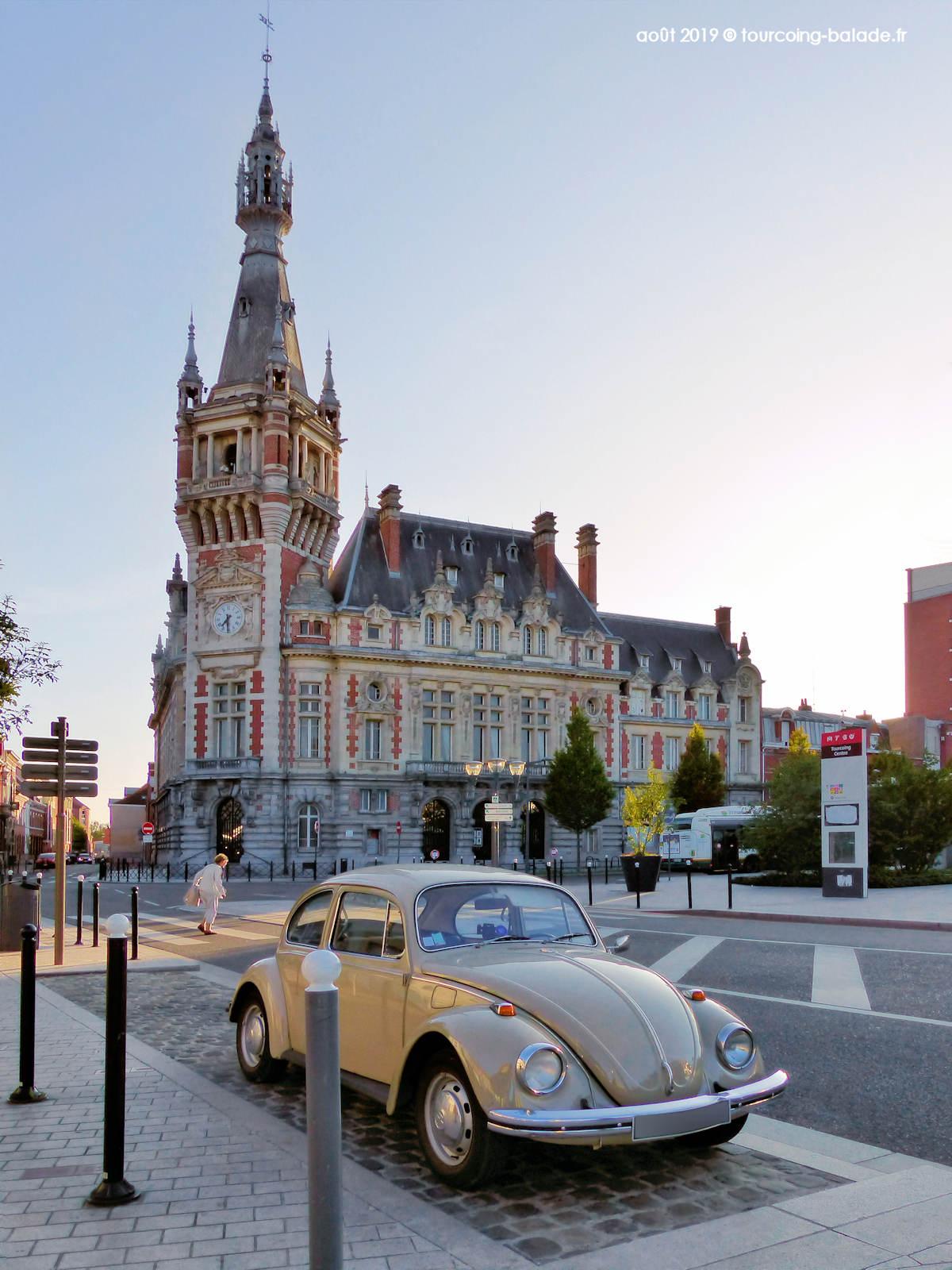Coccinelle VW, Beffroi de Tourcoing 2019