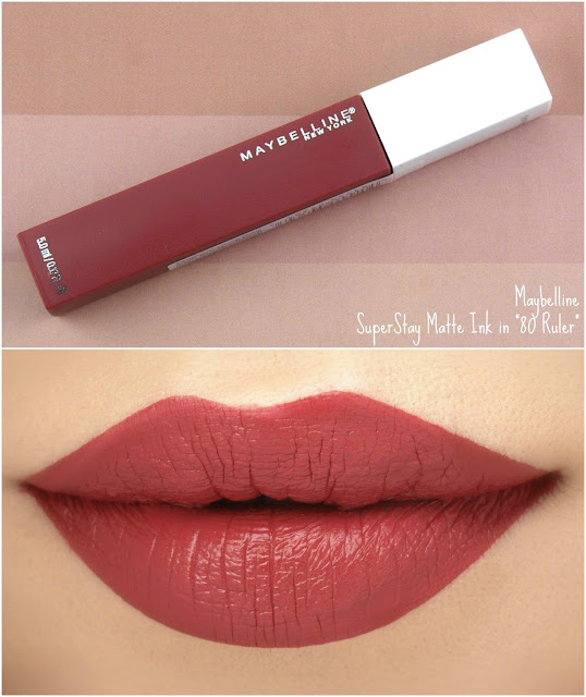 son kem lì Maybelline Superstay Matte Ink