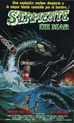 Serpiente de Mar 1984 - Cartel
