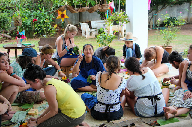 Thai Cooking Class & Loy Krathong Activity