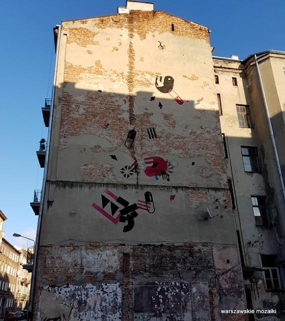 warszawskie murale graffiti  Praga Północ