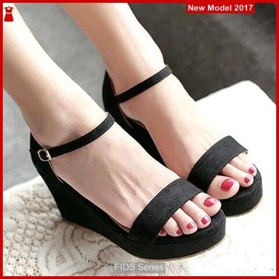 FIDS042 Sepatu Wanita Sandal Wedges Cibaduyut BMG