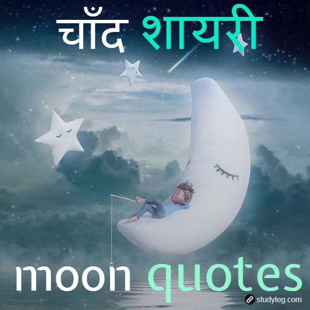Top 10+ best chand quotes and shayari in hindi for chandni raat
