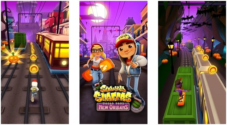 Subway Surfers New Orleans Full Game for Android Free Download