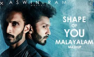 Shape of you malayalam mashup lyrics