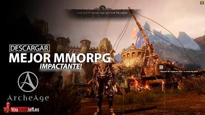 el mejor mmorpg para pc, descargar ArcheAge