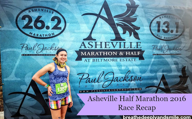Asheville Half Marathon at The Biltmore 2016 {Race Recap}