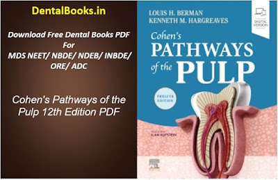 Cohen's Pathways of the Pulp 12th Edition BOOK PDF DOWNLOAD