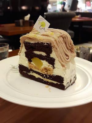 Chef Yamashita Mt Fuji Cake