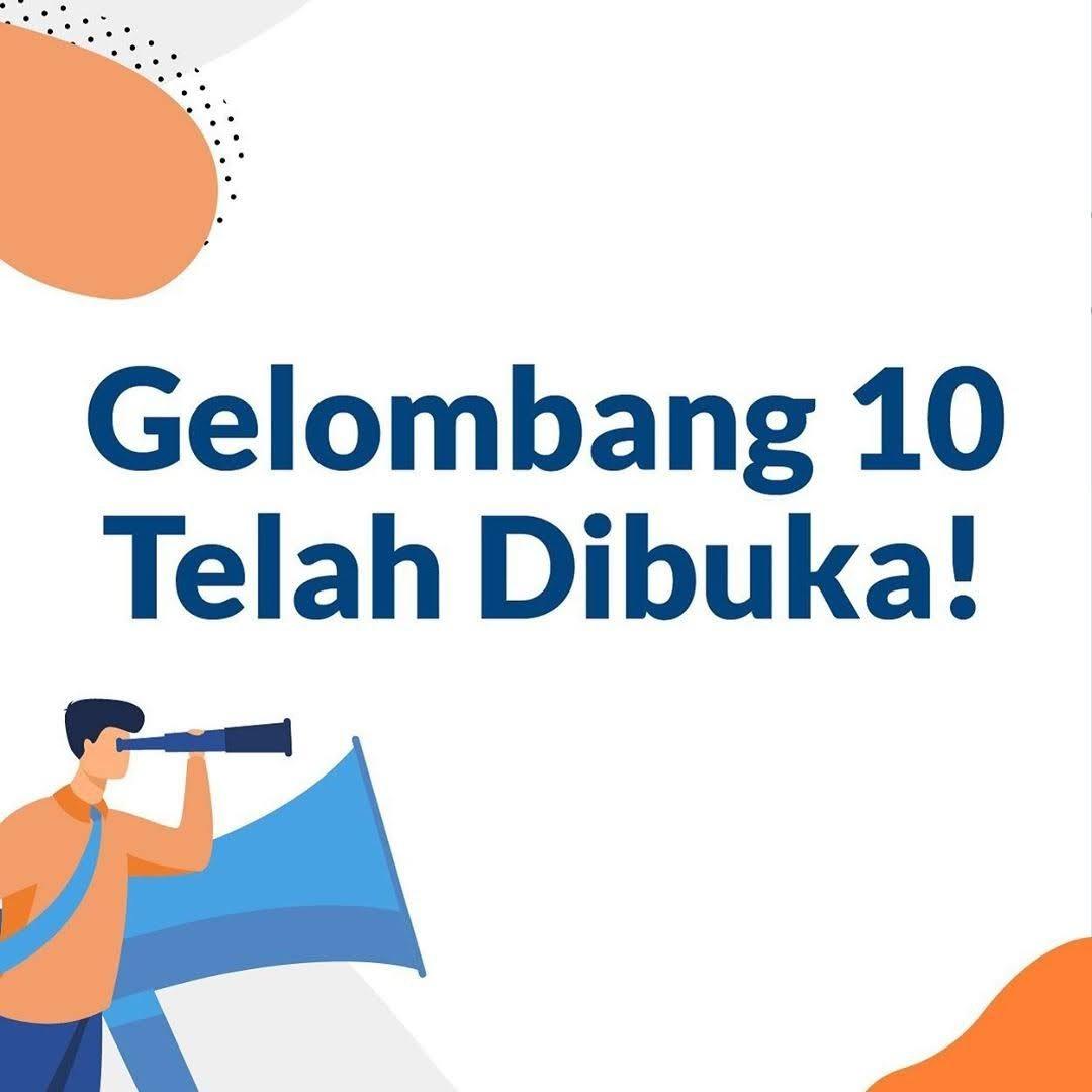 GRATIS Daftar Gelombang 10 Kartu Prakerja Telah Dibuka Mulai Sabtu 26 September 2020