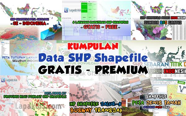 Lapak Jasa Digitasi, Pembuatan Peta, Penyediaan Data Spasial dan Citra Satelit