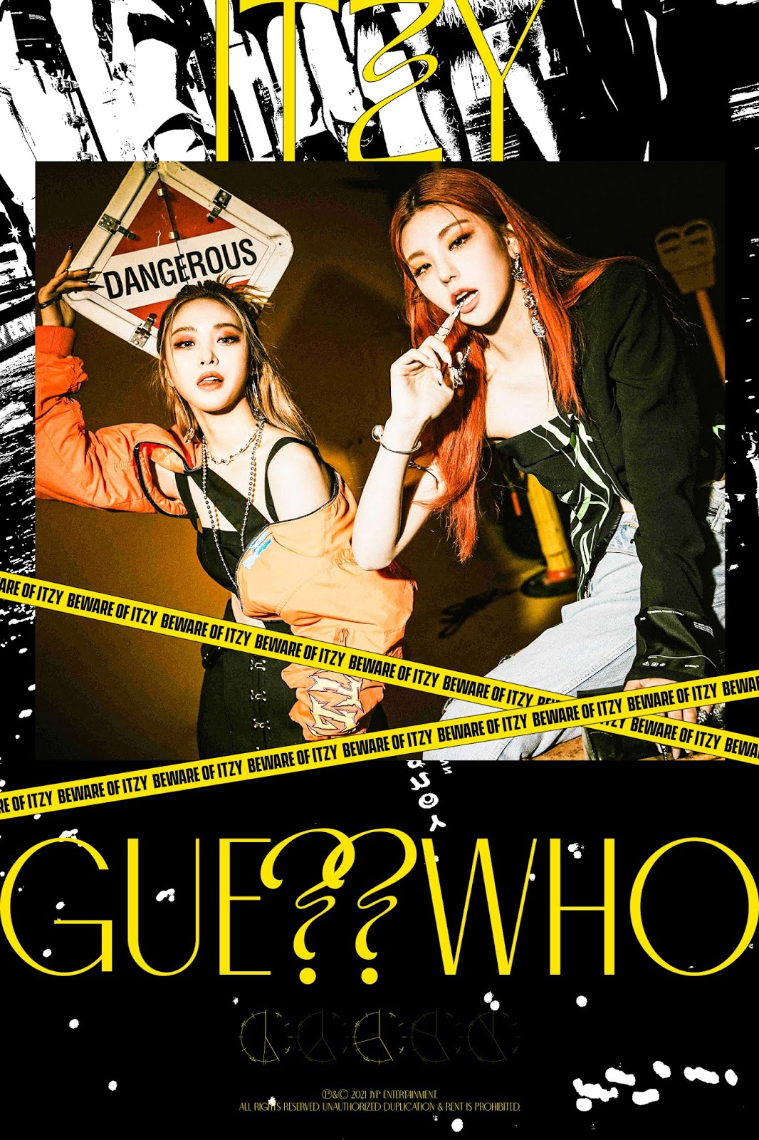 itzy guess who teaser duo