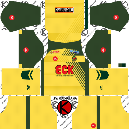Kedah FA Kits 2018 -  Dream League Soccer Kits