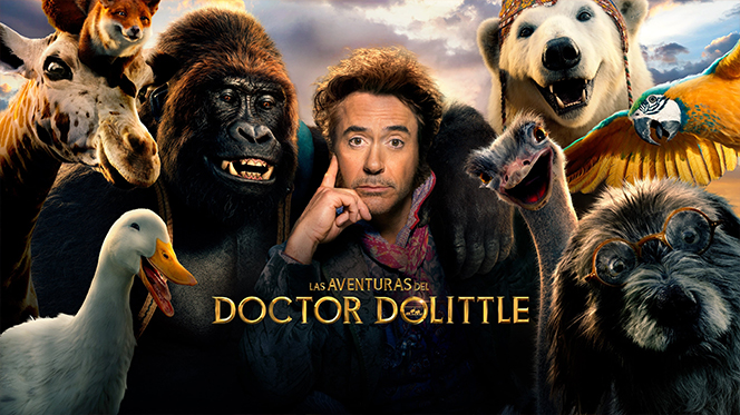 Dolittle (2020) BDRip Full HD 1080p Latino-Ingles