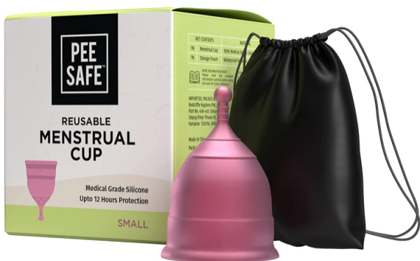 PEESAFE Reusable and Leakage-Proof Menstrual Cup