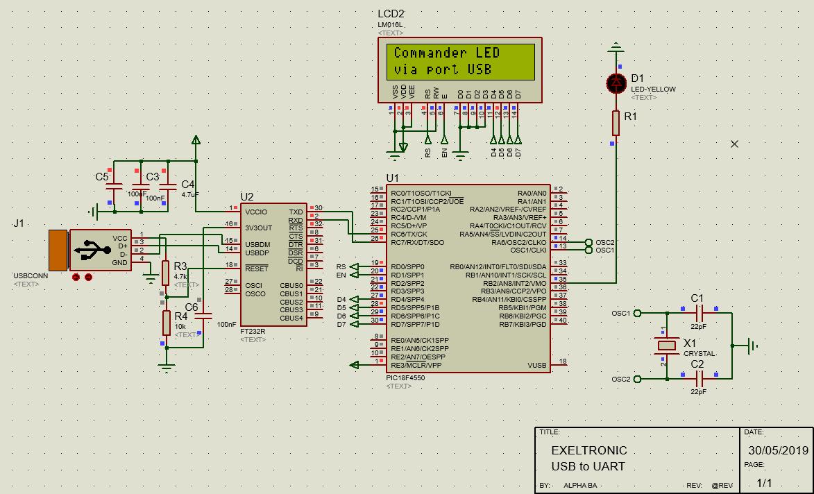 UMFT 231XE-USB à pleine poignée de main UART Development Module Chargeur Batterie détecter