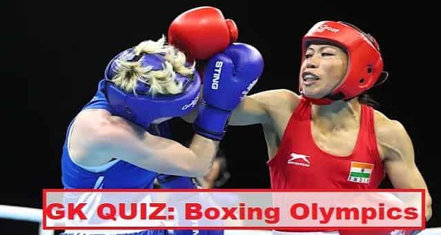 Quiz on Olympics Boxing