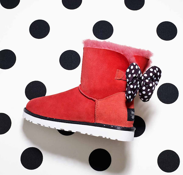Minnie Mouse Inspired UGG