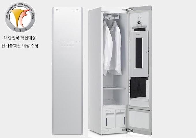 [2015] Tủ giặt khô LG STYLER (2015) (LG Việt Nam) - S3WF - màu trắng Ngọc Trinh