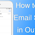 How to fix iPhone Email Stuck in Outbox or Unsent Mail