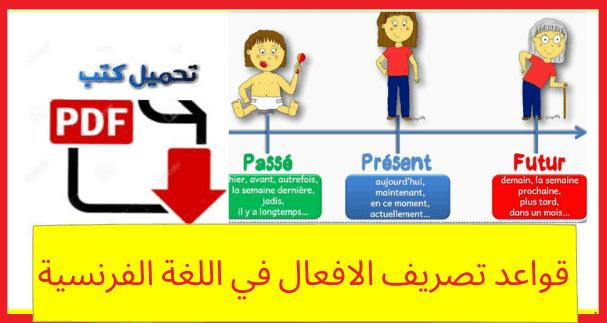 قواعد تصريف الافعال في اللغة الفرنسية في 30 صفحة للتحميل