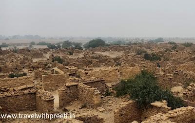 कुलधरा गाँव जैसलमेर राजस्थान - Kuldhara Village Jaisalmer, Rajasthan
