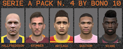 PES 2016 SERIE A FACEPACK N°4 BY BONO10