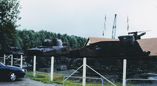 tanks in normandy
