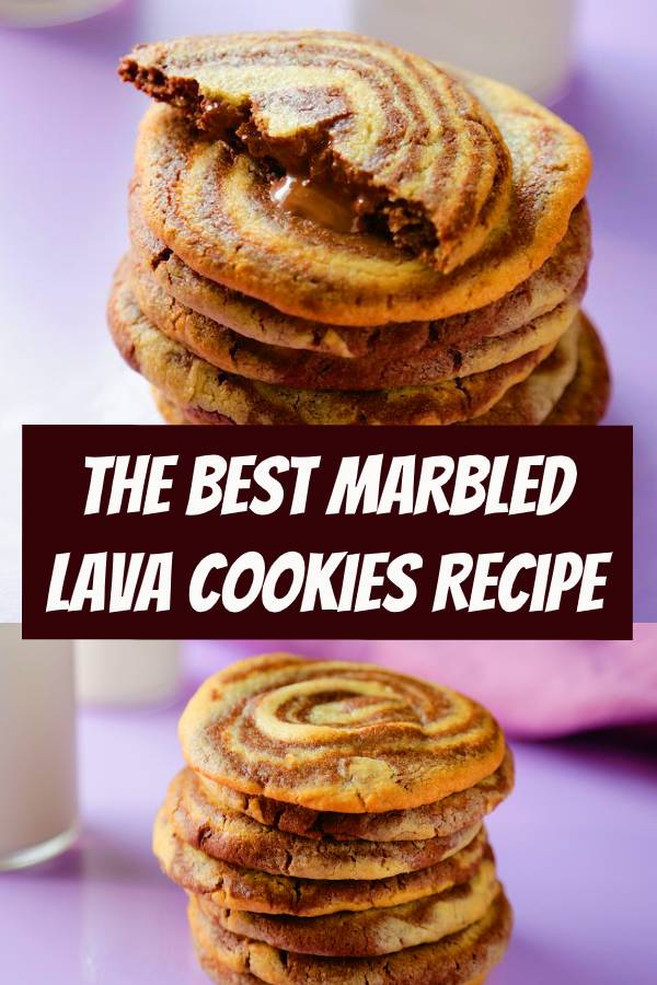 The Best Marbled Lava Cookies Recipe | We've discovered this years winning holiday cookie. #cookies #holidaycookies #easycookies #dessert