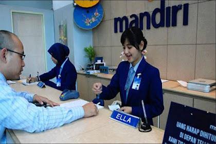 Informasi Lowongan Kerja PT Bank Mandiri (Persero) Tbk Maret 2017