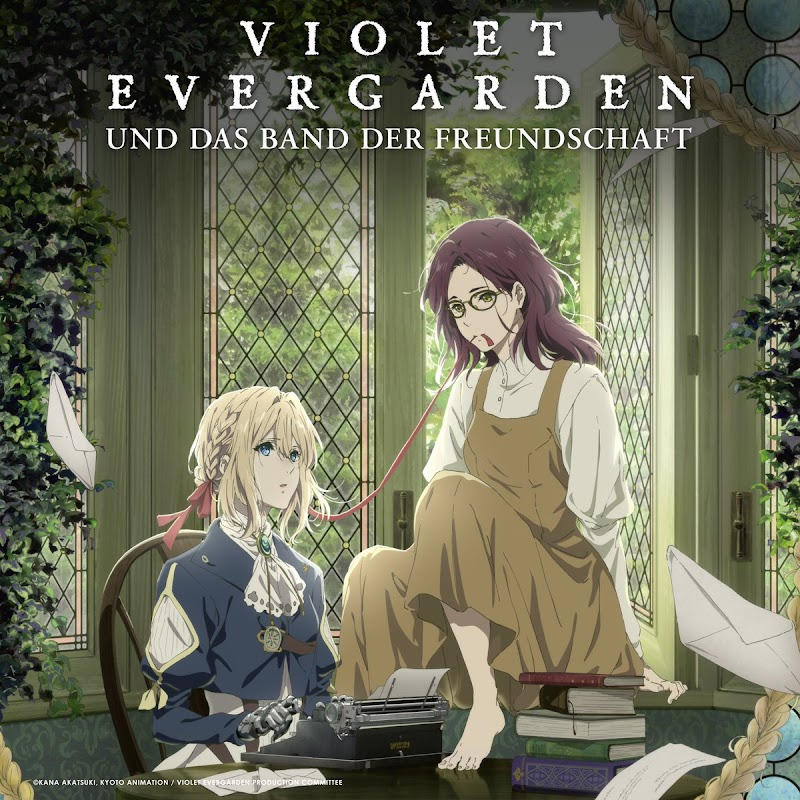 Review Violet Evergarden Gaiden: Pengantar Surat, Pembawa Kebahagian