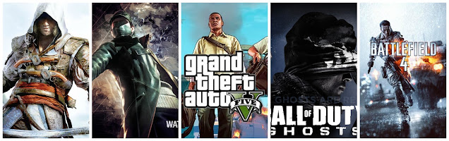Top VideoGames of 2013 PC, PS3, Xbox 360