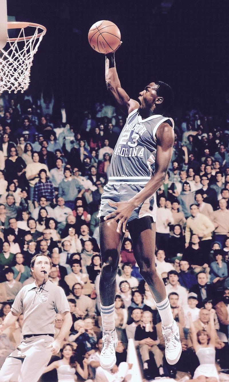 North Carolina Michael Jordan