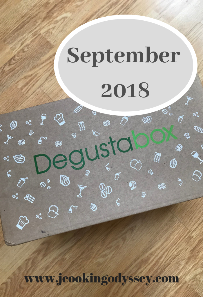 Review of September degustabox on jagruti's cooking odyssey