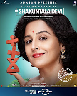 Shakuntala Devi (2020) 720p 870MB Hindi