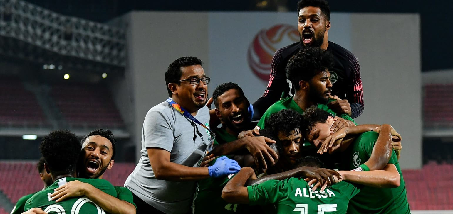 Saudi Arabia defeats Uzbekistan in the semi-finals. 01.22.20