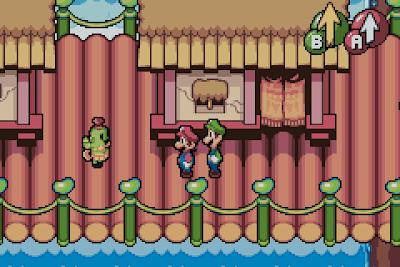 El Pequeño Rincón de los Grandes RPG - Mario & Luigi Superstar Saga - Poblado Juajua