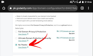 Buy a domain and attach with Blogger