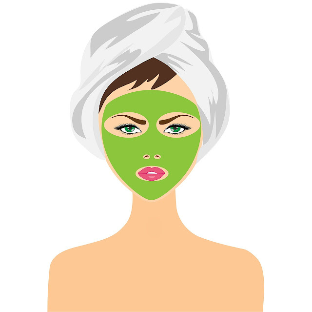 facial mask, skin, woman, moisturizer