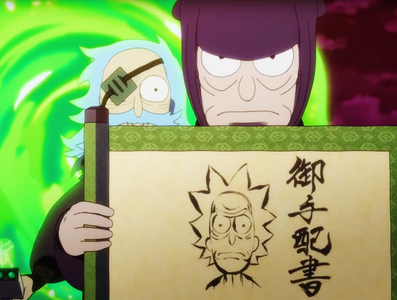 drunken life, dreamy death. | Rick & Morty in Samurai & Shogun