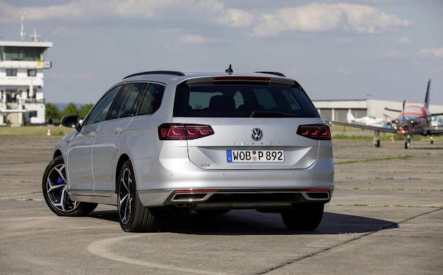 VW Passat GTE Híbrido