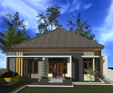 Rumah Rumah Minimalis Modern Atap Limas