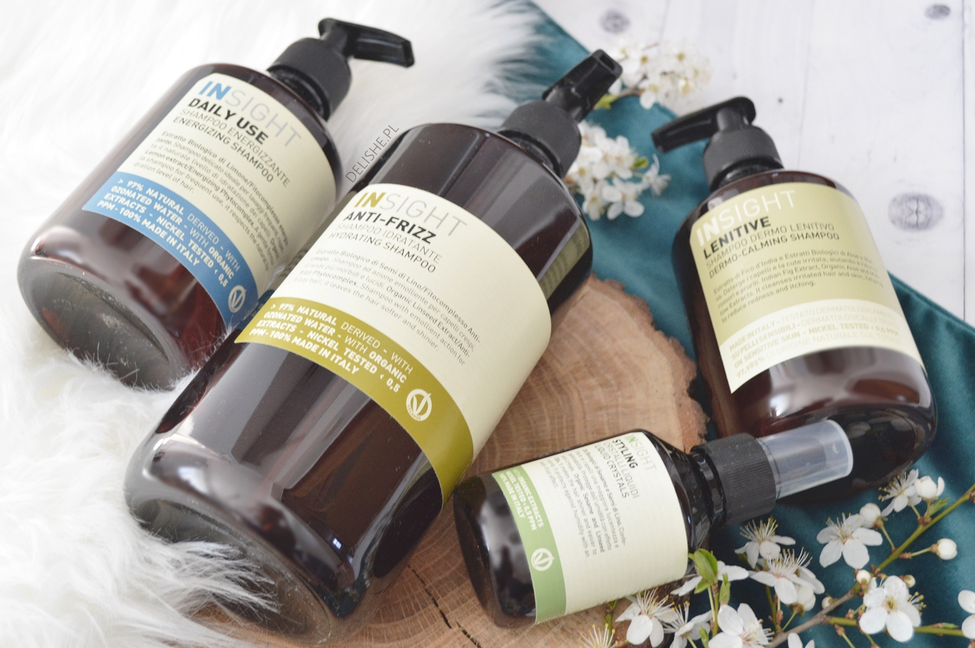 naturalne szampony do włosów Insight