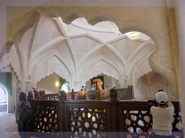 ярус белой мечети