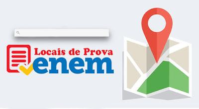 Candidatos podem consultar local onde farão o Enem a partir desta sexta-feira (20)