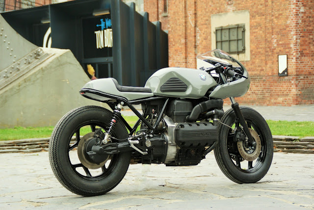BMW K100 By Deep Creek Cycleworks Hell Kustom