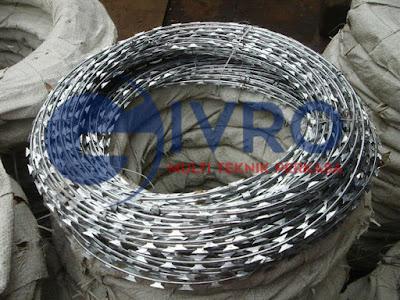 Jual Kawat Silet (Razor Wire)