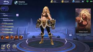Hero Baru Masha Mobile Legends, Hero Fighter Dengan HP 3x Lipat!